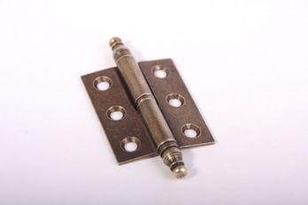 Scharnier-paumelle recht Brons Antiek 50x40mm links of rechts