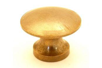Knop brons antiek 25mm