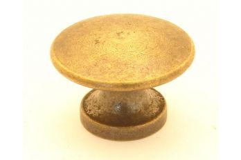 Knop brons antiek 28mm