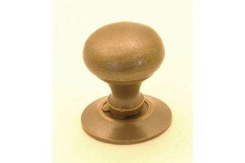 Knop brons antiek 16mm