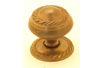 Knop klassiek brons antiek 24mm