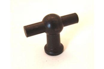 Knop Roest of tinkleur 45mm T-model
