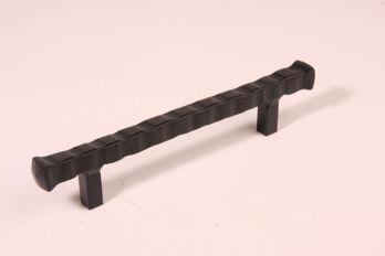 Greep zwart 128mm brut