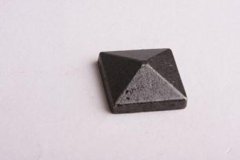 Siernagel met schroefdraad 25mm roest, zwart of tinkleur
