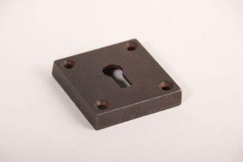 Sleutelozet roest vierkant 50mm