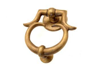 Deurklopper brons antiek