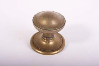 Deurknop voordeur brons antiek, roest of zwart.