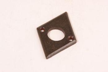 Rozet ruit roest 40x60mm voor deurkrukken