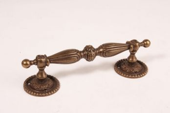 Deurgreep brons antiek 190mm
