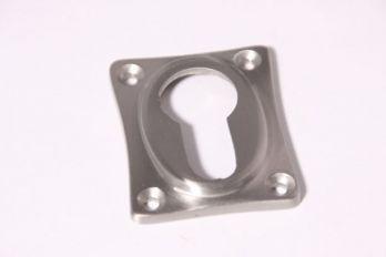 Rozet 38 mm voor cilinderslot ton-model geborsteld nikkel