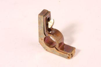 Trap roede houder 14mm brons antiek