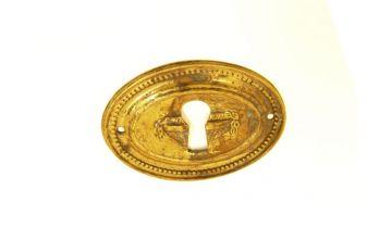sleutelplaat Brons Antiek 46 mm