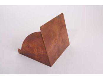 Klep voor kistje of display van rood koper 20 x 17cm