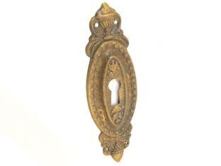 sleutelplaat Brons Antiek 40mm