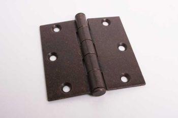 Scharnier stompe binnendeur roest 89mm met platte kop