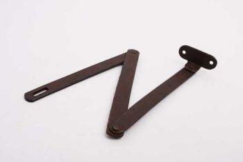 Klepschaar roest ijzer met drie delen 440mm per twee stuks
