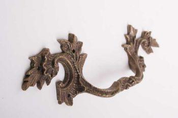 Klassieke meubelgreep antiek brons voor lades en deurtjes 167mm