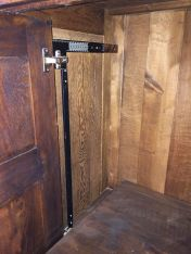 Deur Inschuifsysteem voor TV kast compleet met geleiders 450, 500 en 550mm
