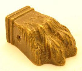 Leeuwenpootje brons antiek 67mm