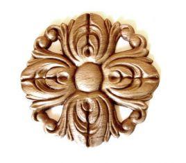 Ornament - Beuken rozet 55 mm