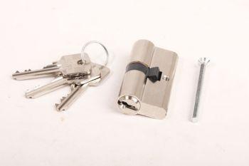 2x Profiel-Cilinderslot gelijksluitend 30/30 SKG** +6 sleutels