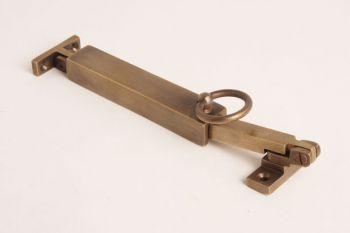 Raamuitzetter 150mm brons antiek wegdraaibaar
