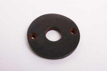 Ronde krukrozet gietijzer roest, zwart of tinkleur 47mm