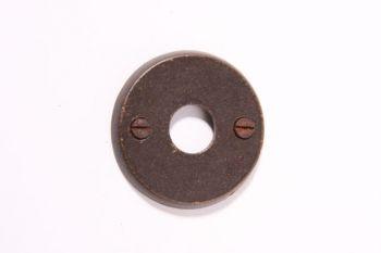 Rozet rond voor deurkruk roest, tinkleur of zwart