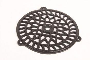 Een rooster voor ventilatie, een airco kanaal of voor een luchtkanaal.