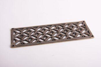 Rooster brons antiek 8x22cm