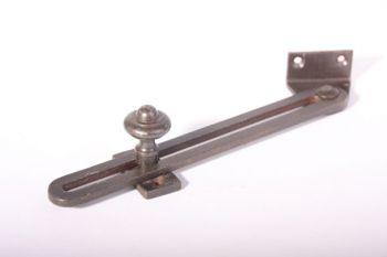 Raamuitzetter verstelbaar ijzer roest of tinkleur 200mm (180mm)