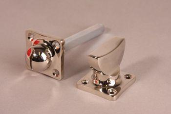 WC sluiting ton model blinkend nikkel of geborsteld nikkel voor toilet of badkamer