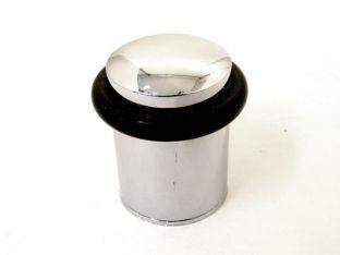 Deurstopper Blinkend chroom 28mm