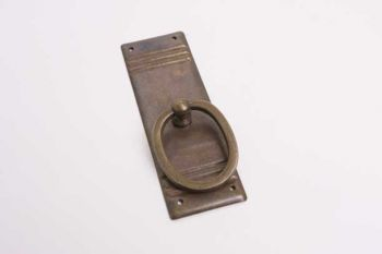 Klassieke greep voor meubeldeurtjes brons antiek 33 mm ZONDER sleutelgat