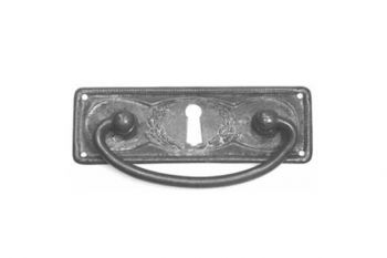 Dunne ladegreep brons antiek. Klassieke dunne greep gemaakt van massief messing in de afwerking Brons Antiek.