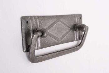 Ladegreep voor meubelen gemaakt van ijzer in tinkleur 96mm