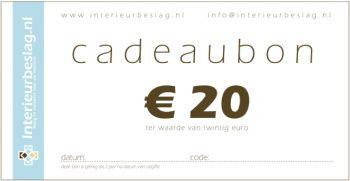 Cadeaubon EUR 20,-