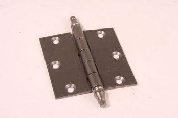 Scharnier tinkleur 89mm x 89mm met vaaskop voor binnendeuren
