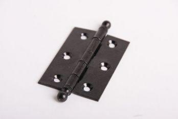 Scharnier voor meubel en interieurbouw zwart 63mm x 42mm bled in het midden