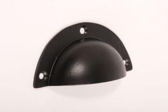 Komgreep - Greep zwart 93mm