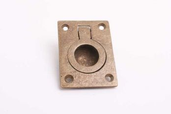 Greep infreestrekker voor meubelen brons antiek 38mm