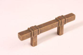 Greep brons antiek 64mm of 96mm