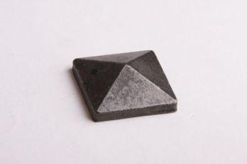 Vierkante siernagel kop met schroefdraad roest, zwart of tinkleur 30mm