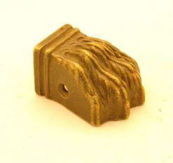 Leeuwenpootje brons antiek 38mm