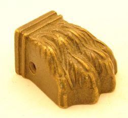Leeuwenpootje brons antiek 43mm