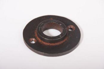 Krukrozet gietijzer roest, zwart of tinkleur rond 50mm