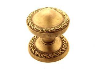Klassieke deurknop voor de voordeur brons antiek