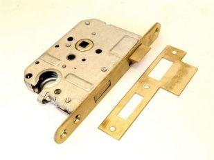Cilinderslot 55mm messing 8mm links/rechts