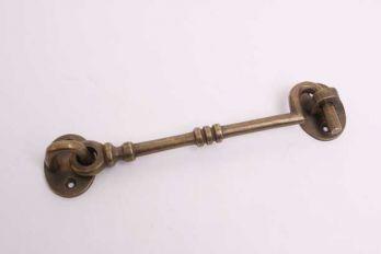 Kajuithaak antiek brons 150mm (165mm totaal) voor binnen en buiten