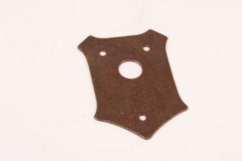 Rozet schild roest 56x80mm voor deurkrukken